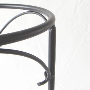 極太アイアンスタンドA φ28×45H /10号(φ30)鉢用