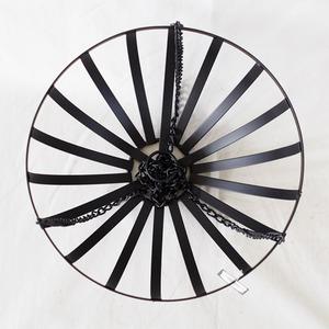 カルチベーター フラットバーアイアンハンギング 黒 φ30cm