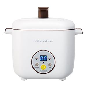 recolte(レコルト) Healthy CotoCoto(ヘルシーコトコト)/White(ホワイト) RHC-1(W)