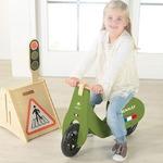 木製幼児用自転車/ペダル無し自転車 グリーン(緑) 重さ 3.0kg 専用スタンド付き 【RENAULT】 ルノー WOODY TRAINEE-BIKEの詳細ページへ