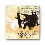 SoundSurf 戦国ファブリック掛時計