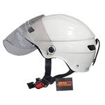 スタイリッシュな開閉式シールド付きハーフヘルメットの詳細ページへ