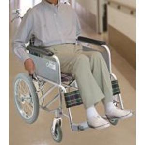 ハンドブレーキ付アルミ製介護車(背折れタイプ)