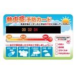 熱中症予防カード・NE2 【100枚セット】 の詳細ページへ