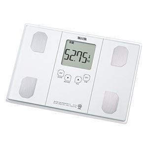 TANITA タニタ 体組成計(体重計/体脂肪計) 最大計量(秤量):150kg 立かけ収納可 BC-314-WH