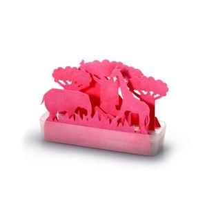 セキスイ 自然気化式ECO加湿器 うるおい サバンナ(ピンク) (紙 ペーパー加湿器)