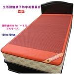 マイナスイオン 快眠ぐっすりシート 100×200cm 日本製の詳細ページへ