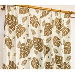 5種類から選べる遮光カーテン 2枚組 100×200 ブラウン モンステラ柄 リーフ柄 洗える 形状記憶 タッセル付き 遮光モンステラの詳細ページへ