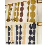 遮光カーテン 2枚組 100×178 グリーン 水玉柄 北欧風 洗える アジャスターフック付き タッセル付き ルナリスの詳細ページへ