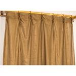 カラーレースカーテン 2枚組 100×133 ブラウン ミラーレース 見えにくい 洗える アジャスターフック付き セルバ2の詳細ページへ