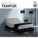 TEMPUR モダンスタイリッシュな電動リクライニングベッド ダブル 【フレームのみ】 ブラック 『テンピュール Zero-G Curve』 正規品 20年限定保証付きの詳細ページへ
