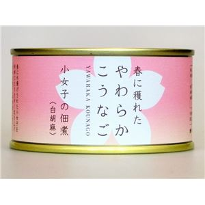 木の屋石巻水産缶詰 小女子の佃煮(白胡麻) 24缶セット