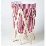 Laundry Hamper(ランドリーハンパー) レッドストライプ×ナチュラルの詳細ページへ