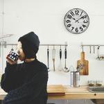 モチーフクロック/壁掛け時計 【Lサイズ/ミコノス】 直径33cmの詳細ページへ