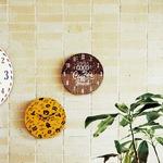 モチーフクロック/壁掛け時計 【Lサイズ/COFFEE BEANS&BAG - コーヒー ビーンズ アンド バッグ - 】 直径33cmの詳細ページへ