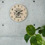 モチーフクロック/壁掛け時計 【Lサイズ/CRAFT - クラフト - 】 直径33cmの詳細ページへ