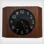 壁掛け時計/ウォールクロック 【Teton ウォールナット】 木製×ガラス 文字盤:数字 CCL-5407-WNの詳細ページへ