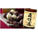 :焼酎トリュフ 森伊蔵(ヴァローナチョコレート使用)4粒入の詳細ページへ