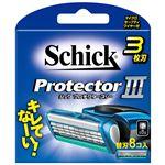 シック(Schick) プロテクタースリー替刃(8コ入) × 12 点セット