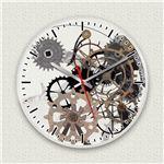 壁掛け時計/デザインクロック 【デウスエクス・マキナ】 直径30cm アクリル素材 『MYCLO』 〔インテリア雑貨 贈り物 什器〕の詳細ページへ