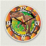 壁掛け時計/デザインクロック 【T-REX】 直径30cm アクリル素材 『MYCLO』 〔インテリア雑貨 贈り物 什器〕の詳細ページへ
