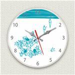 壁掛け時計/デザインクロック 【折鶴】 直径30cm アクリル素材 『MYCLO』 〔インテリア雑貨 贈り物 什器〕の詳細ページへ