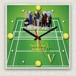 フォトフレーム時計/デザインクロック 【コート】 幅30cm アクリル製 L版 『MYCLO』 〔送別品 記念品 贈り物〕の詳細ページへ