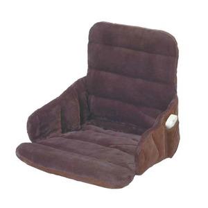 ソファー・椅子用 ヒーター/ホットマット 【幅37cm】 洗えるカバー 電磁波カット機能 『腰すっぽりヒーター』
