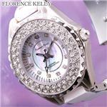 FLORENCE KELLY ICEBERG EX 1Pダイヤ セラミックウォッチ FLK800