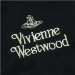 Vivienne Westwood(ヴィヴィアンウエストウッド) マフラー 2 F282 12 ブラック L180W39