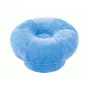 ゲルマ快適円座クッション ブルー