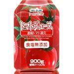 テーブルランド 食塩無添加トマトジュース たっぷり900gペットボトル 24本入り