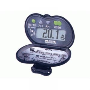 タニタ 脂肪燃焼量付歩数計 ピッチウォーク FB-712-BK