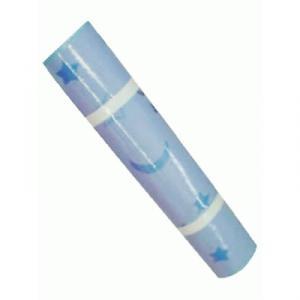 ヨガマット ブルー (柄付き) STT141