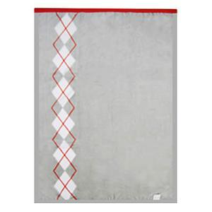 綿マイヤー毛布 : グレーの商品画像大