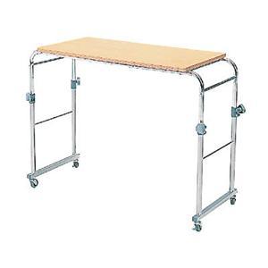 ベッドテーブル BT-301 ナチュラル/クロム