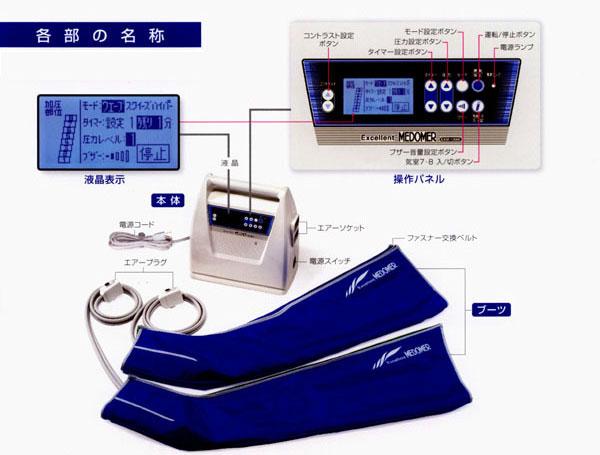 家庭用マッサージ器 エクセレントメドマー  EXM-12000A