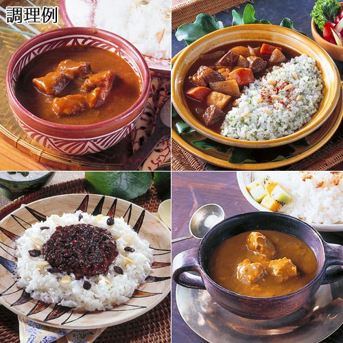 世界のカレー 10食セットの素材写真00/077/556/05.jpg