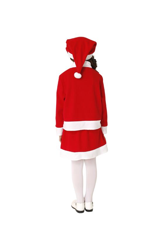 【クリスマスコスプレ 衣装】キッズツーピースサンタ 140 4560320827795 (子供用)