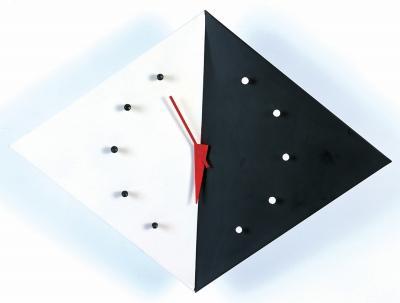 ネルソンカイトクロック (壁掛け時計) 鉄板 幅55cm ミッドセンチュリー 【完成品】