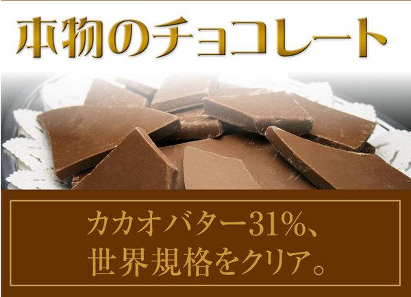 割れチョコ ミルク 800g 【クーベルチュー...の説明画像2