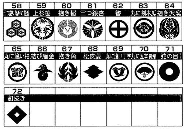 家紋入りフォーマル3点セット(カフス タイピン...の説明画像3