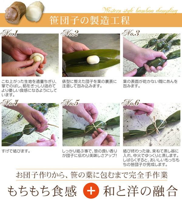 お試しに!洋風笹団子(コーヒー餡10個)の説明画像5