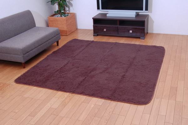 洗える ウォッシャブルラグカーペット 『ライオンシープNSK』 ベージュ 130×185cm