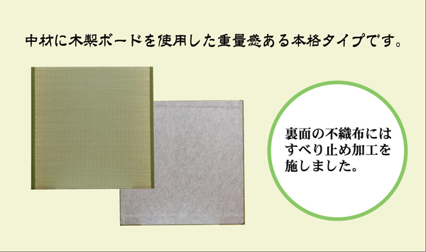 ユニット畳 『楽座』 88×88×2.2cm(4枚1セット)