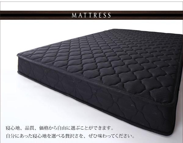 【組立設置費込】収納ベッド セミダブル【ポケ...の説明画像18