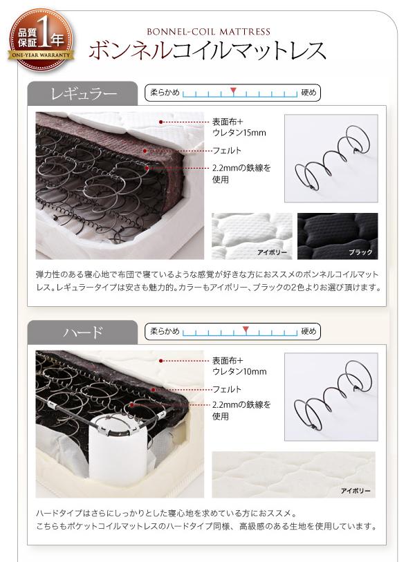 【組立設置費込】収納ベッド セミダブル【ポケ...の説明画像25