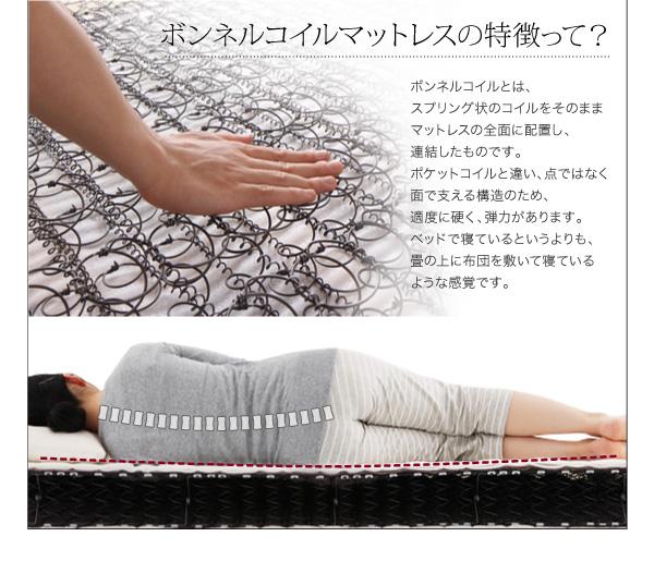 【組立設置費込】収納ベッド セミダブル【ポケ...の説明画像26