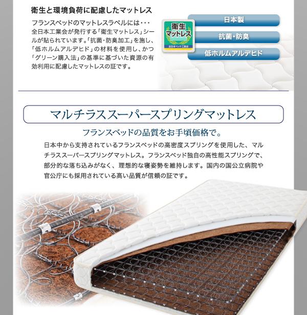 【組立設置費込】収納ベッド セミダブル【ポケ...の説明画像28