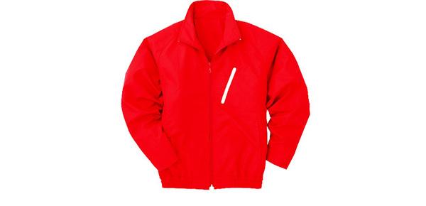 空調服 ポリエステル製長袖ブルゾン P-500BN 【カラー:ブルー サイズ:LL】 電池ボックスセット